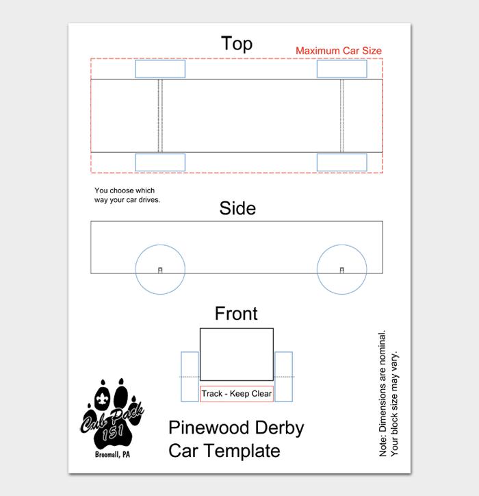 Pinewood Derby Car Designs & Templates #21