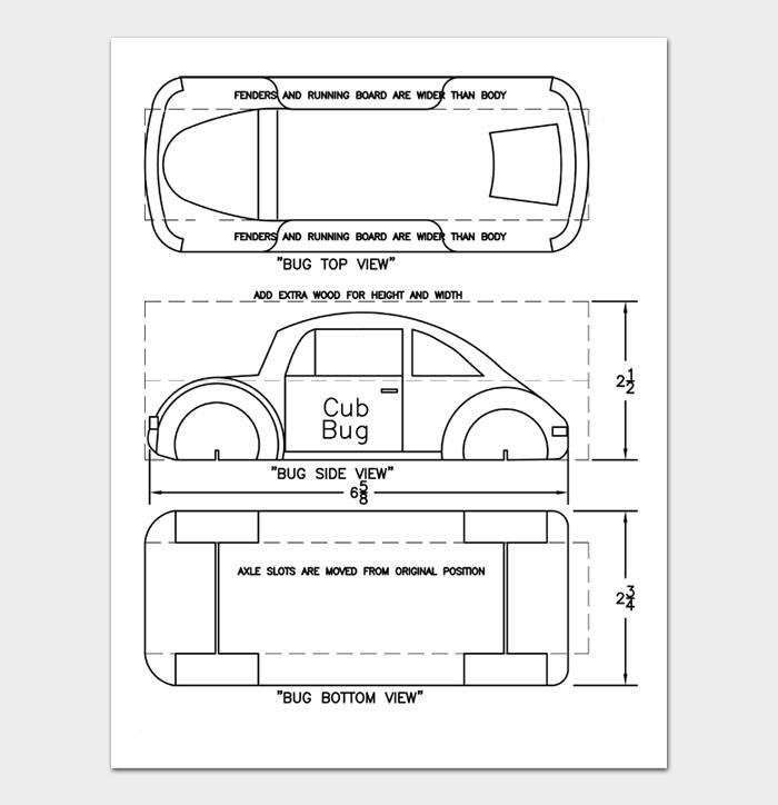 Pinewood Derby Car Designs & Templates #23