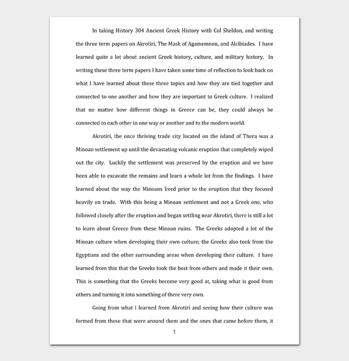 Reflective Essay #04