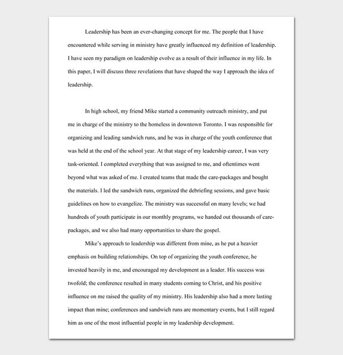 Reflective Essay #09