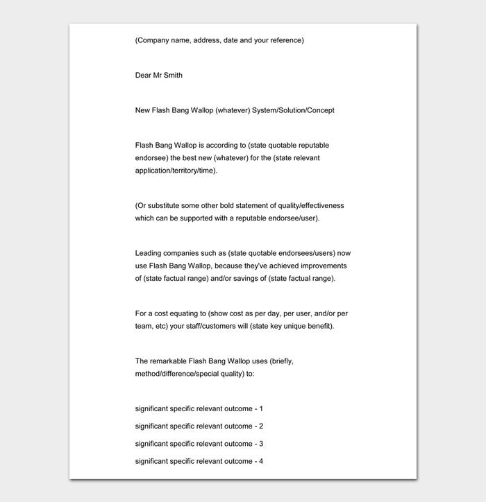 Sales Letter #05