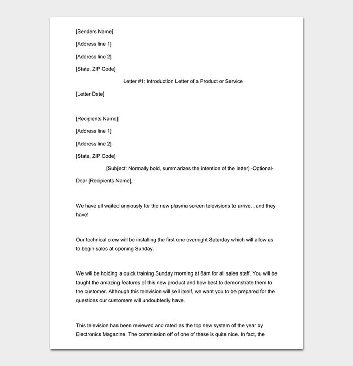 Sales Letter #07