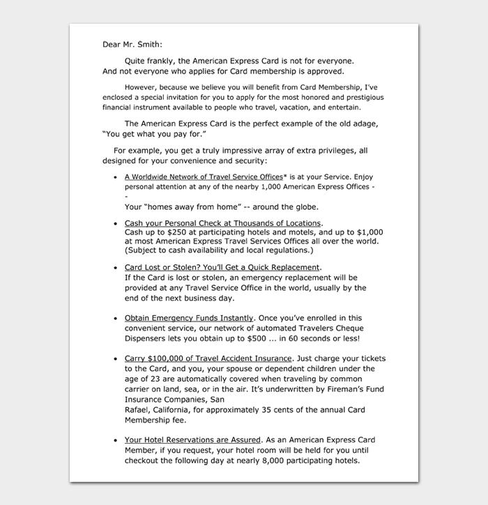 Sales Letter #10