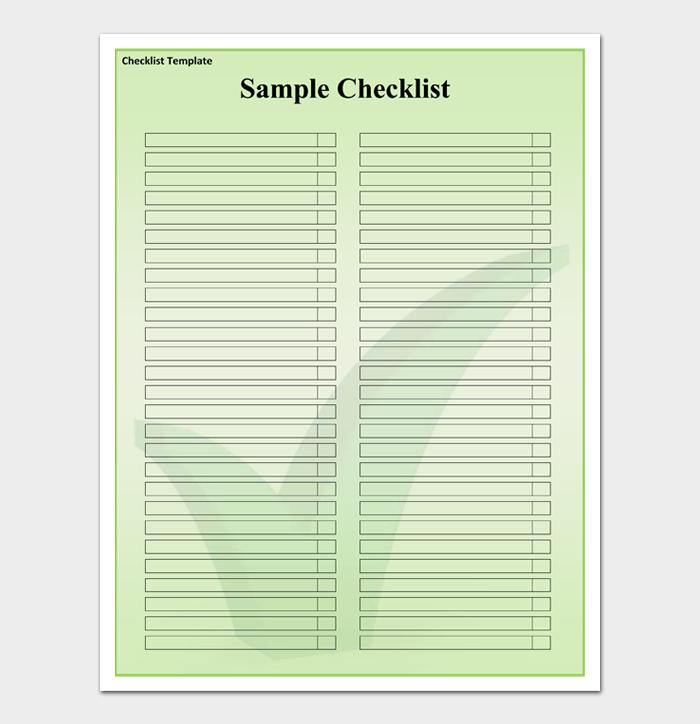 Task List Template #03