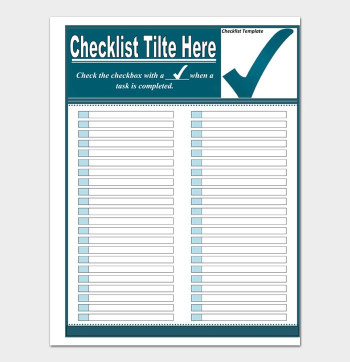 Task List Template #04