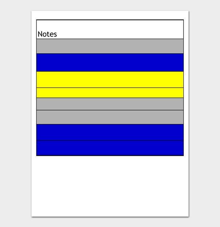Task List Template #07
