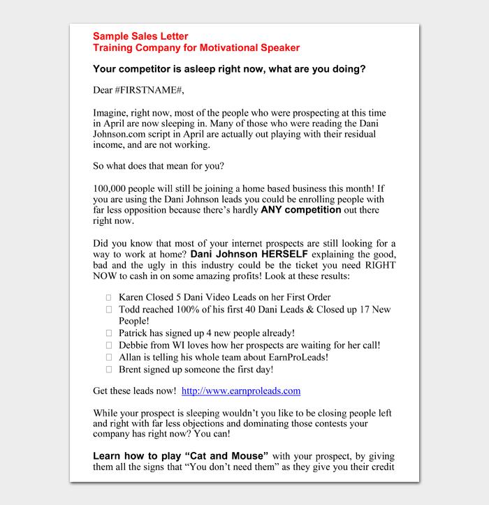 Training Company for Motivational Speaker
