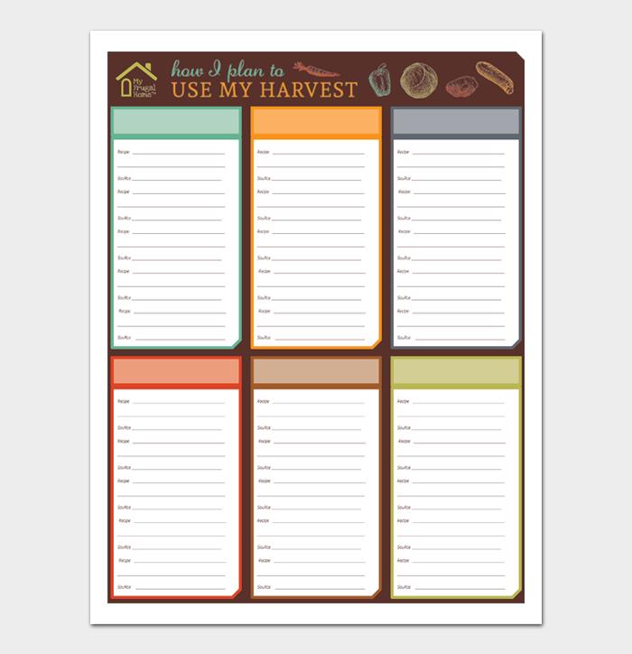 cookbook template #13