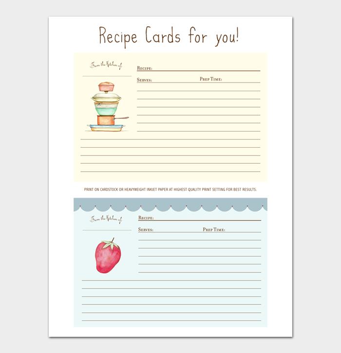 cookbook template #16