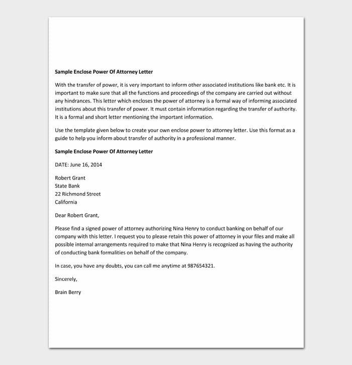 02 power of attorney letter