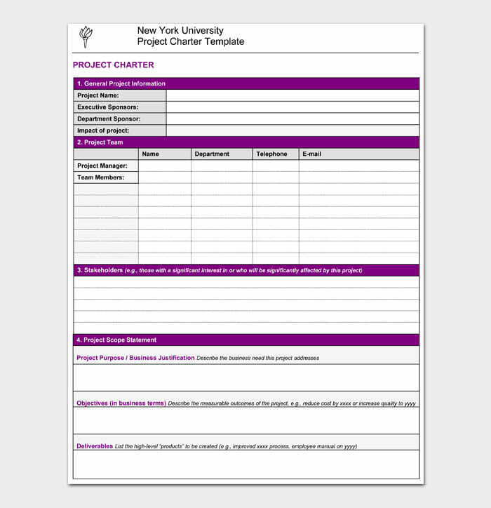 03 Project Charter Template