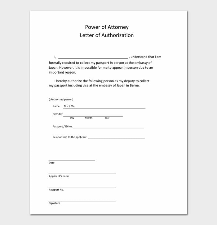 03 power of attorney letter