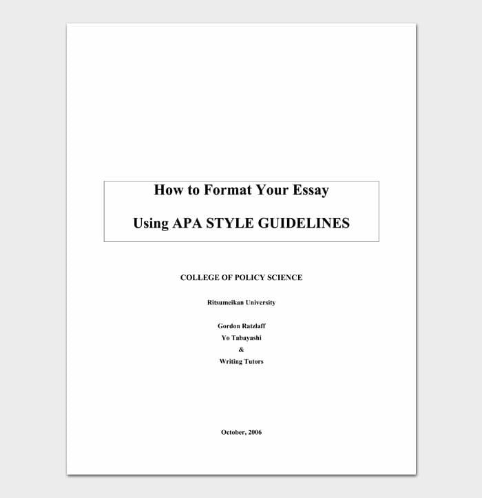 04 college essay format