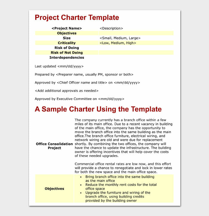 06 Project Charter Template
