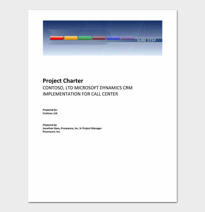 11 Project Charter Template