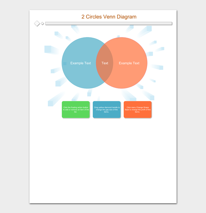 2 Circles Venn Diagram