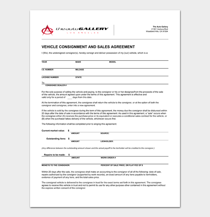 Car Sale Contract #01