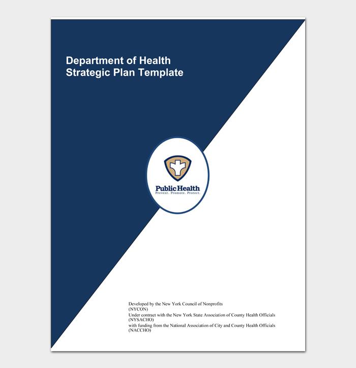 Department of Health Strategic Plan Template
