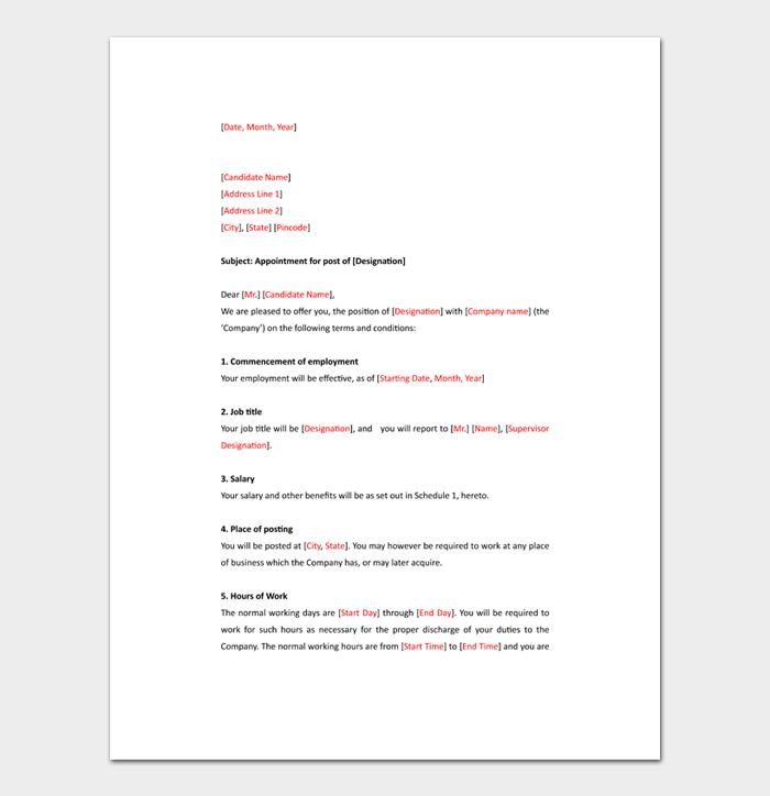 Formal Business Letter Format #10