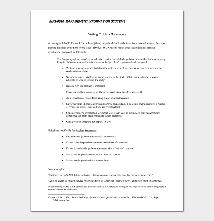 INFS 6040 MANAGEMENT INFORMATION SYSTEMS