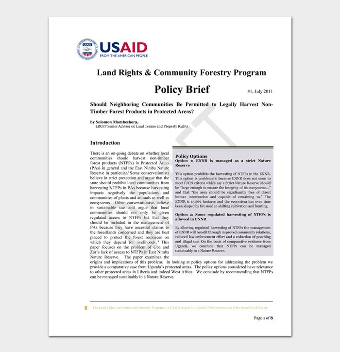 Land Rights & Community Forestry Program