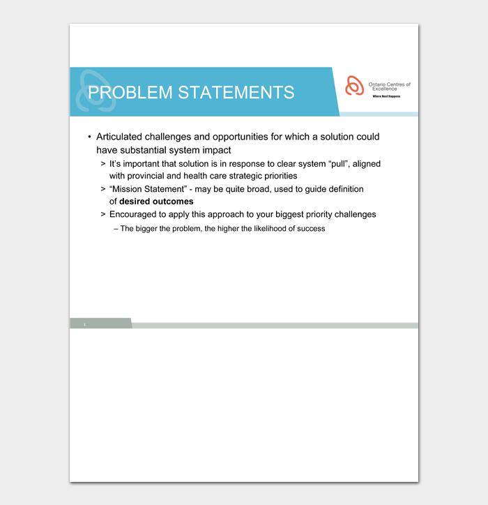 Problem Statement Template #08