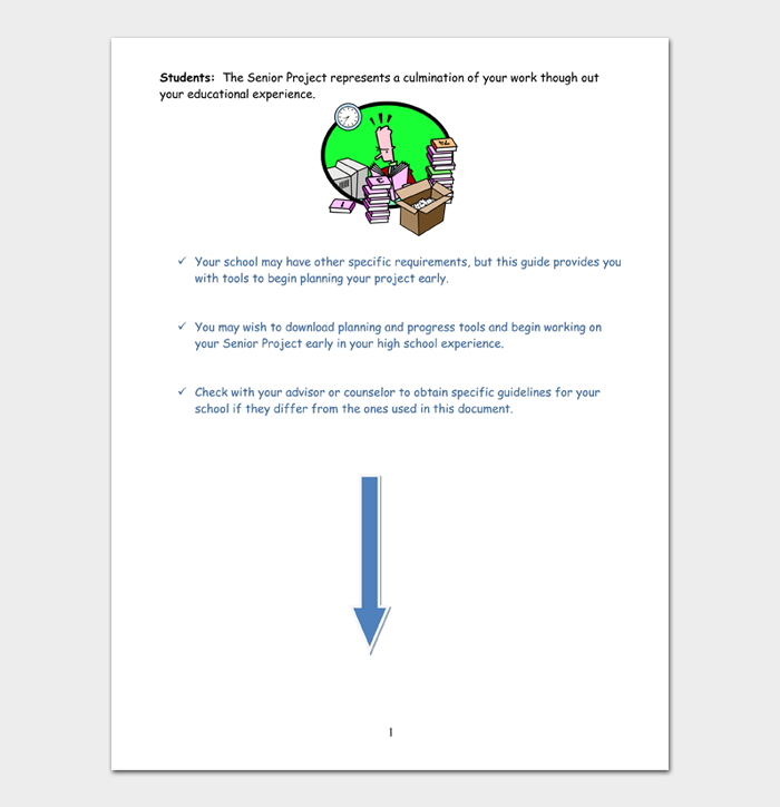 Project Rubric Template #17