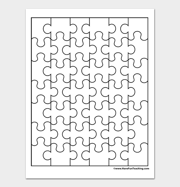 Puzzle Template #02