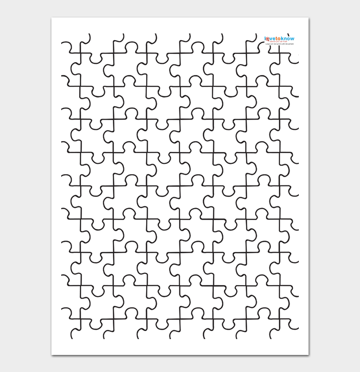 Puzzle Template #04