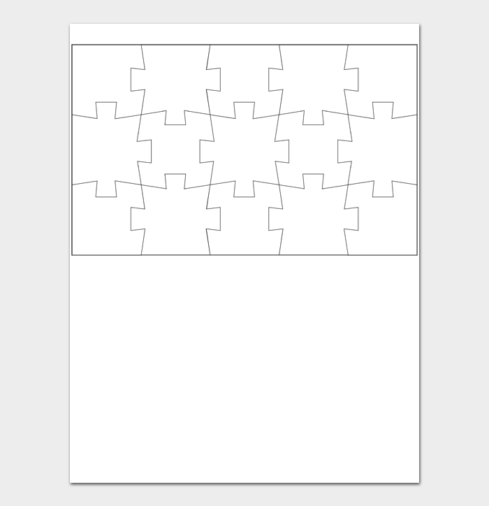 Puzzle Template #08