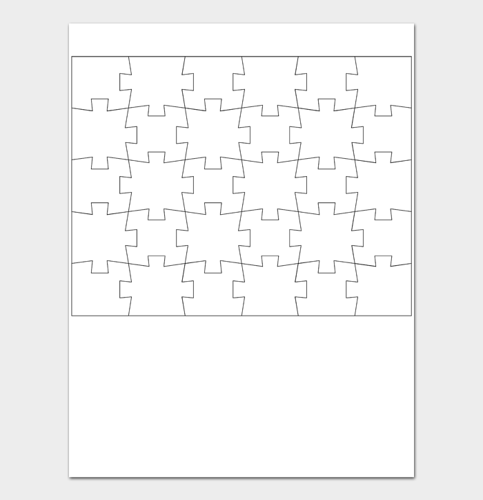 Puzzle Template #09
