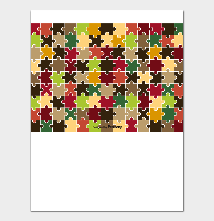 Puzzle Template #12