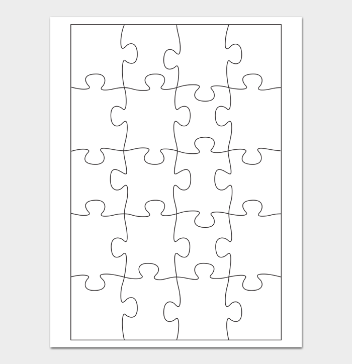 Puzzle Template #15