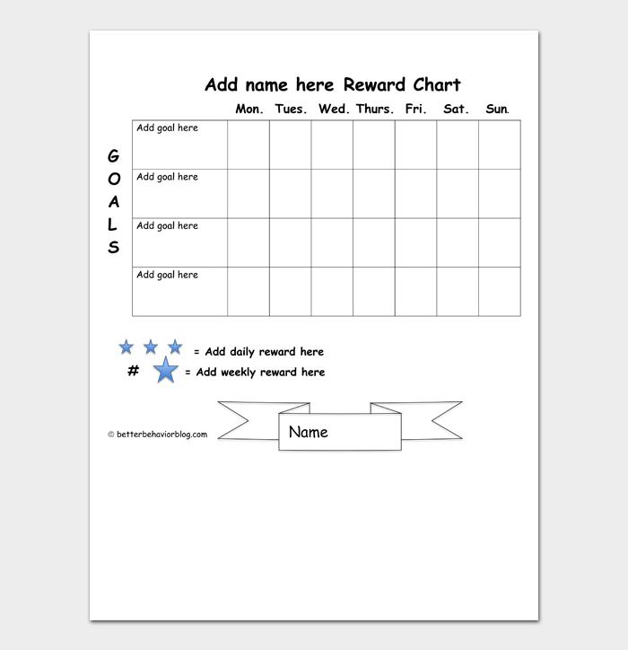 Reward Chart #01