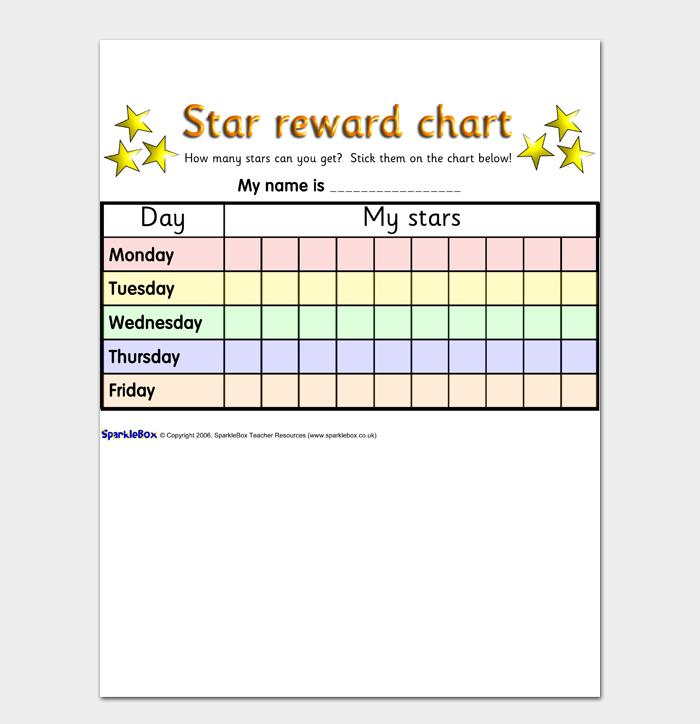 Reward Chart #15