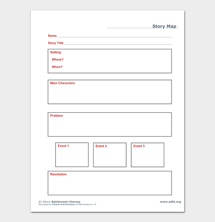 Story Map Template #04