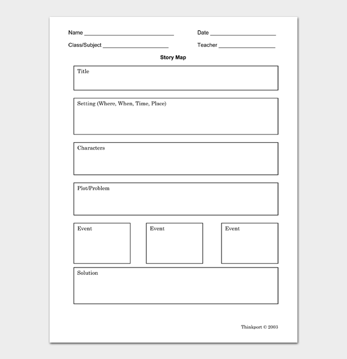 Story Map Template #11