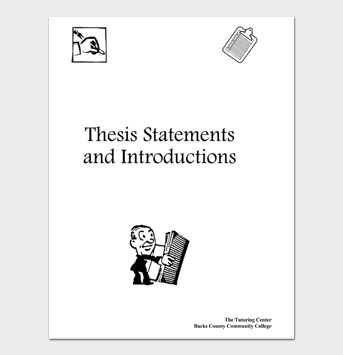 Thesis Statement Template #03