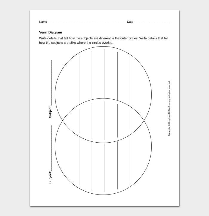 Venn Diagram Template #01