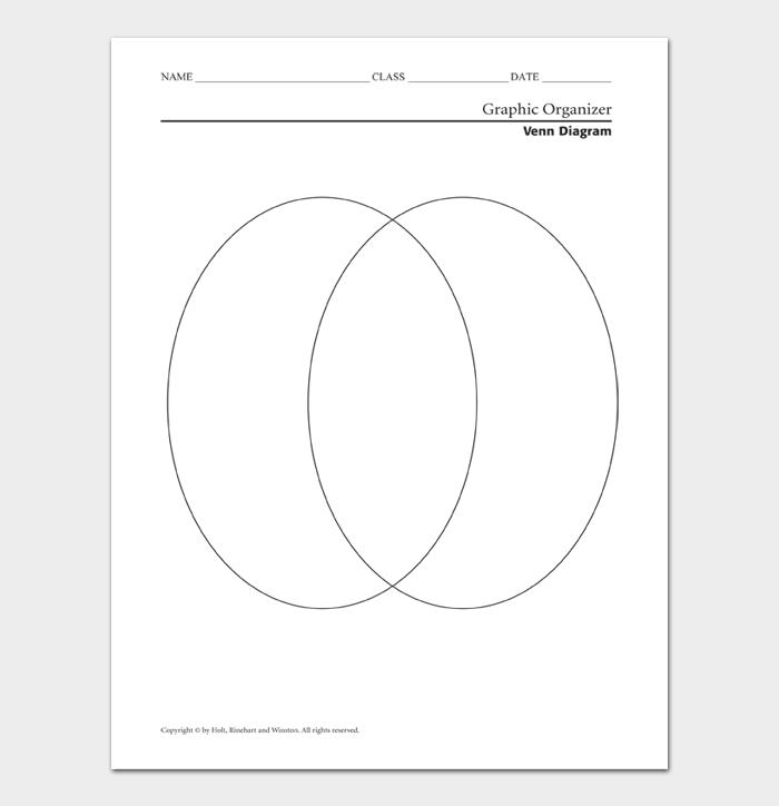 Venn Diagram Template #08