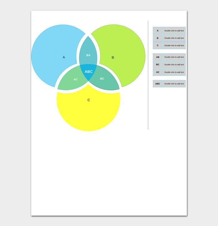 Venn Diagram Template #09
