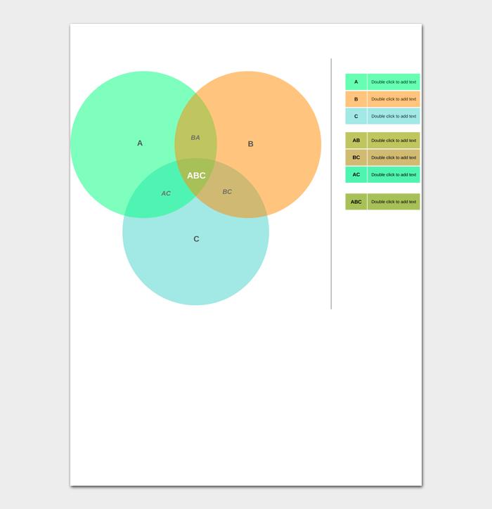 Venn Diagram Template #10