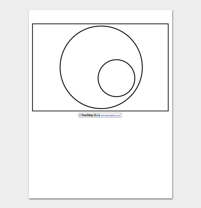 Venn Diagram Template #12