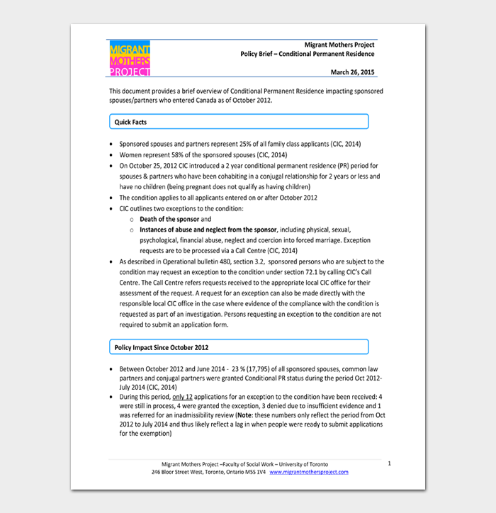 policy brief template #02