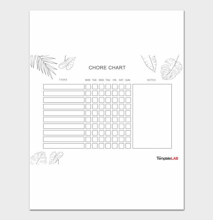 01 Adult Chore Chart