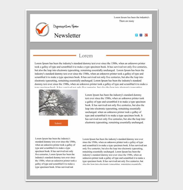 01 Newsletter Template