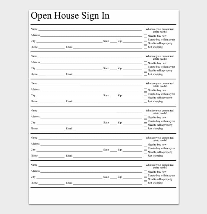 03 open house sign in sheet