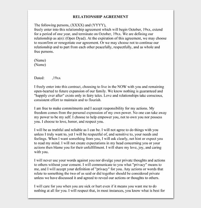 05 relationship contract