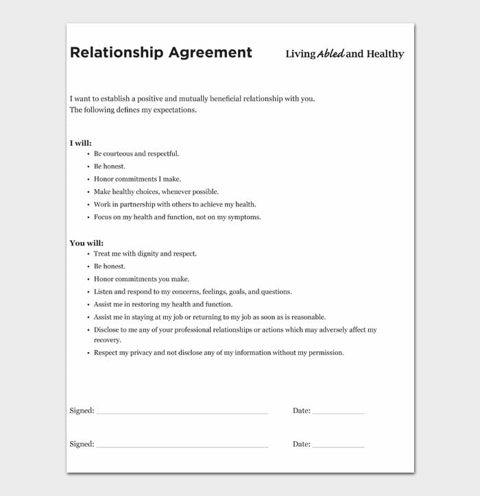 06 relationship contract