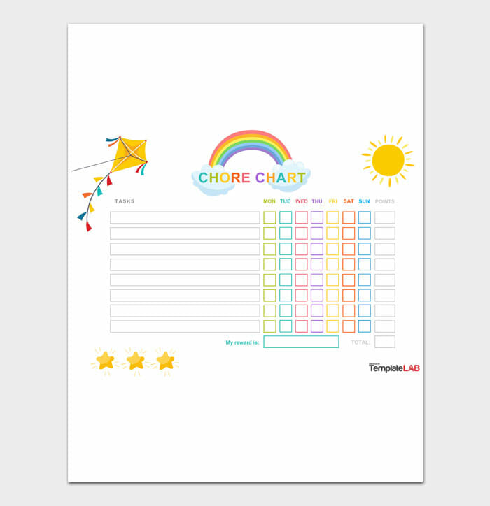07 Kids Chore Chart